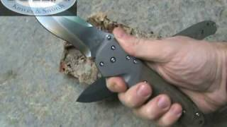 MercWorx Knives Atropos - ARS - Attack Rescue Survive Custom Titanium Folder - Coltelleria Collini
