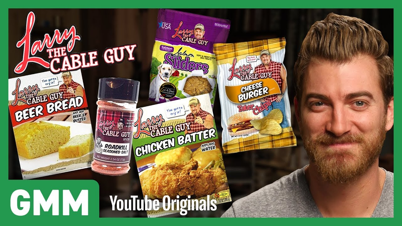 Larry The Cable Guy Food Taste Test - Youtube-5080