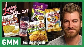 connectYoutube - Larry The Cable Guy Food Taste Test