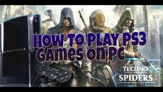 *How To Play PS3 Games IN PC !!! (IN HINDI)