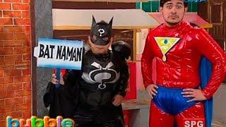 Soaperman at Batnaman to the rescue sa 'Bubble Gang'
