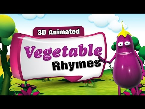 3D Rhymes Collection | 30 Nursery Rhymes Collection | Vegetable Rhymes Compilation | Rhymes Lyrics