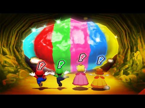 Mario Party 6 MiniGames - Mario Vs Luigi Vs Peach Vs Wario (Master Cpu)