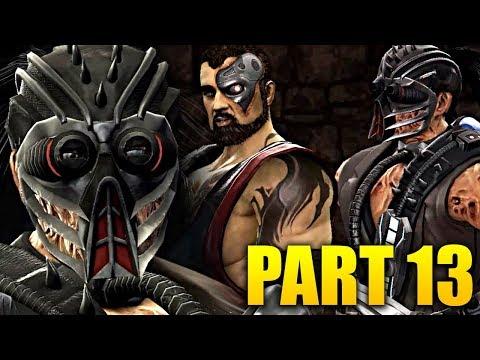 Mortal Kombat 9 Playthrough Part 13 - BEHIND ENEMY LINES! (ROAD TO MK11) thumbnail