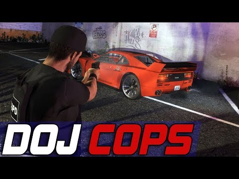 Dept. of Justice Cops #536 - Perfect Position!