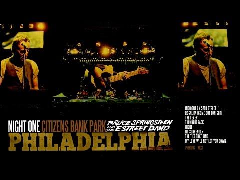 Bruce Springsteen - Philly 7.9.2016 Lost in the flood - record breaking 4h show - blu-ray