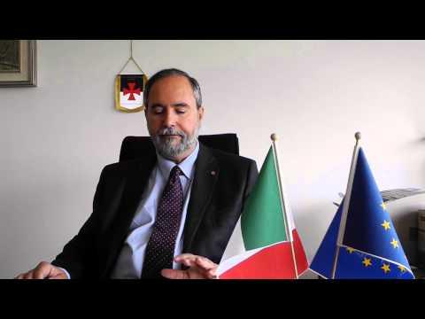 Claudio Padua describes the International Trade Hub/Italy project