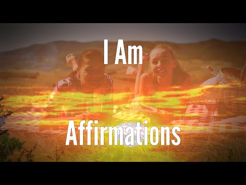 I AM Affirmations for Becoming Your True Self - I Am Power Affirmations Series