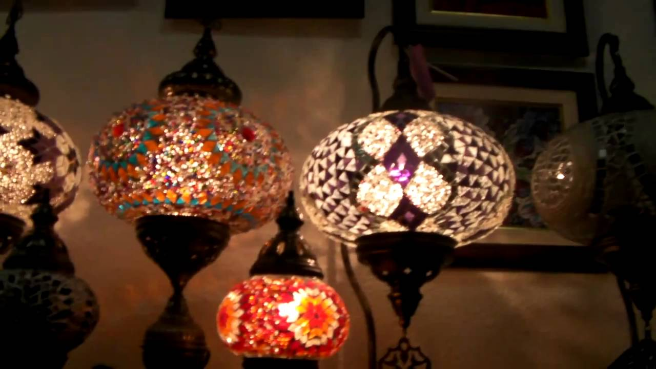 img and swan brass are blues lamp in glass lamps our of colored pair finished neck handmade mosaic table