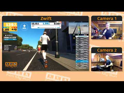 Zwift Running | Progressive Group Run