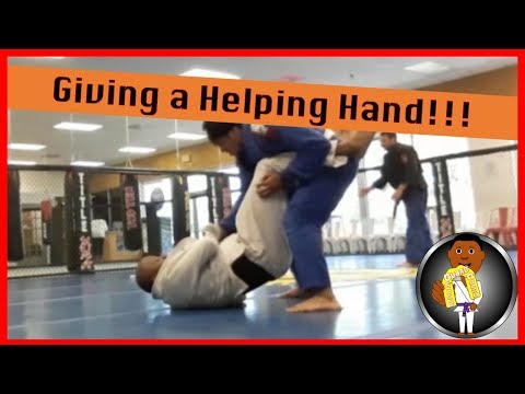 BJJ Roll No. 114 - A Helping Hand - with Marcus at Smiley Academy