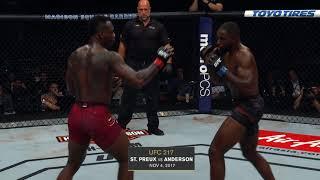 ТОП-5 нокаутов участников UFC 236