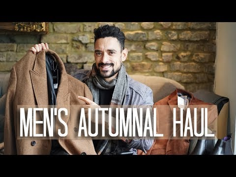 Menswear Autumnal Haul | NEXT Menswear | Carl Thompson