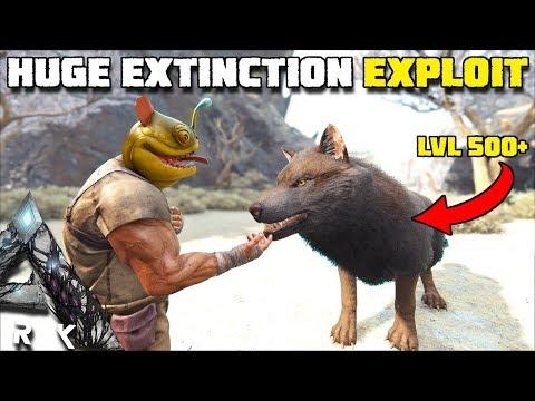 HUGE EXPLOIT IN EXTINCTION !! TAME LVL 500+ WOLVES | ARK:EXTINCTION [EP12]