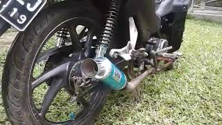 Test Knalpot Cha Racing Slip On Honda Absolute Revo