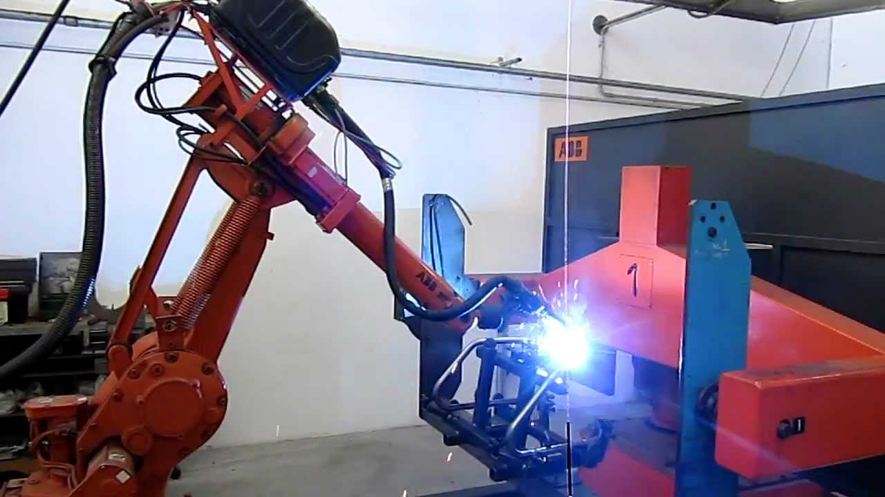Metal 3 Srl Saldatura Robotizzata Abb Youtube