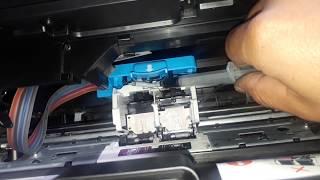 Quitar el aire de las mangueras Impresora HP Desjet GT5810