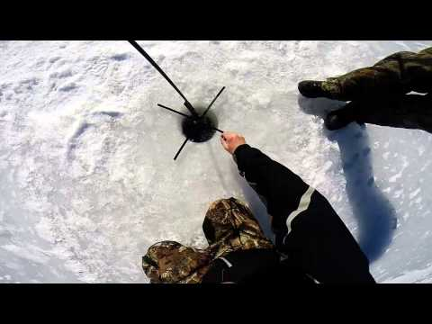Ice Fishing Saratoga Lake
