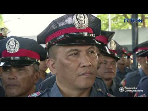 Talk to the Officers and Personnel of the PNP – Police Regional Office 12 (Speech)