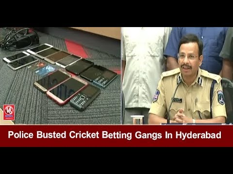 Police Busted Cricket Betting Gangs In Hyderabad | 13 Arrested & Seized Rs 18 Lakhs | V6 News