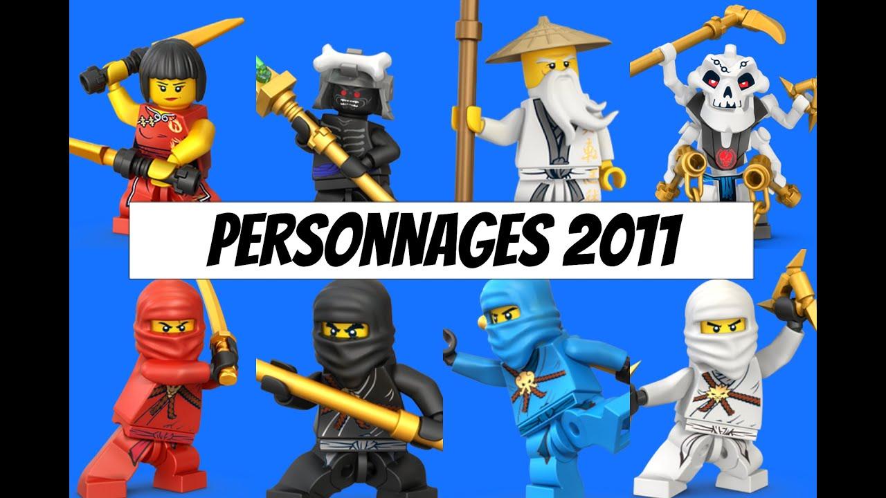 Ninjago 2011 personnages youtube - Personnage ninjago lego ...