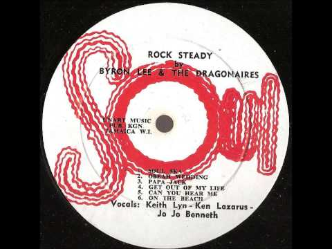 Byron Lee and the Dragonaires  -- Rock steady --  full album 1967 soul records