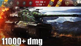 AMX 50 B самый РЕЗУЛЬТАТИВНЫЙ БОЙ 🌟 11 фрагов 11000+ dmg 🌟 World of Tanks лучший бой амх 50 б