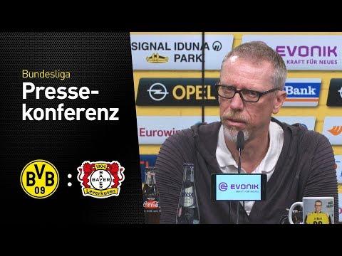 LIVE | PK mit Peter Stöger | BVB - Bayer 04 Leverkusen