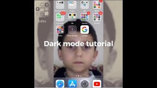 Dark Mode Tutorial