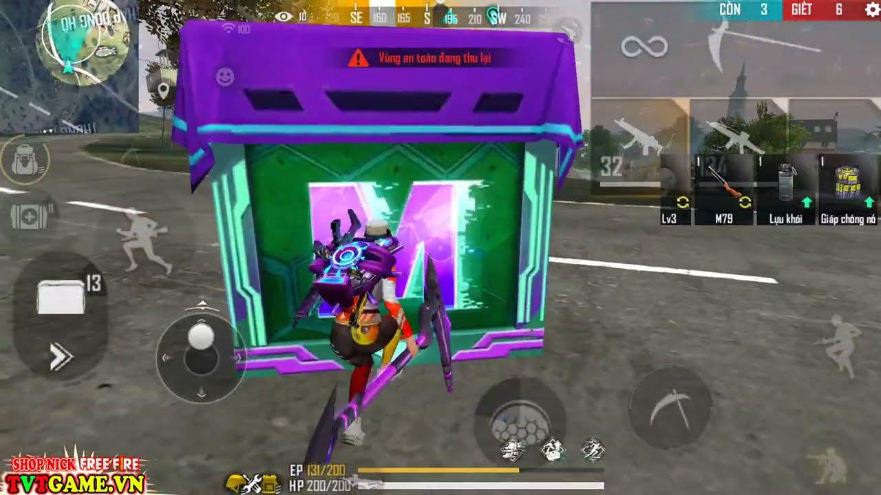 Thử Thách Bắn Phóng Lựu M79 Góc Siêu Cao Giết Địch, Cách Nhận FREE Nv Moco   Free Fire