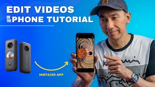 Insta360 One X2 Tutorial: How to Edit on the Insta360 App | Basic Editing and Export screenshot 4