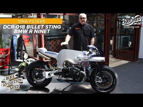 DNA Filters: Billet Sting BMW R NineT Custom - Bike Shed Show 2019