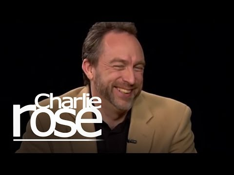 Jimmy Wales 2   Charlie Rose