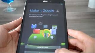 Hard Reset Tablet LG V500