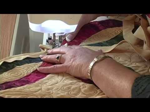 Double Wedding Ring binding video by Shar Jorgenson YouTube