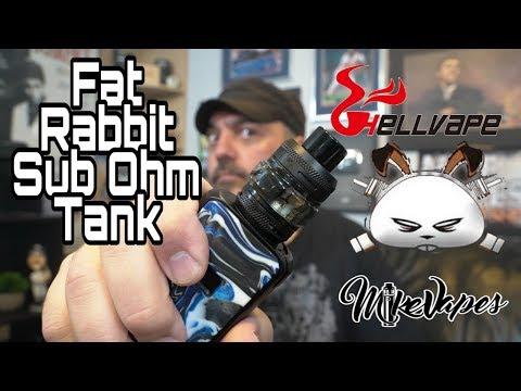 HellVape Fat Rabbit Sub Ohm Tank By Heathen