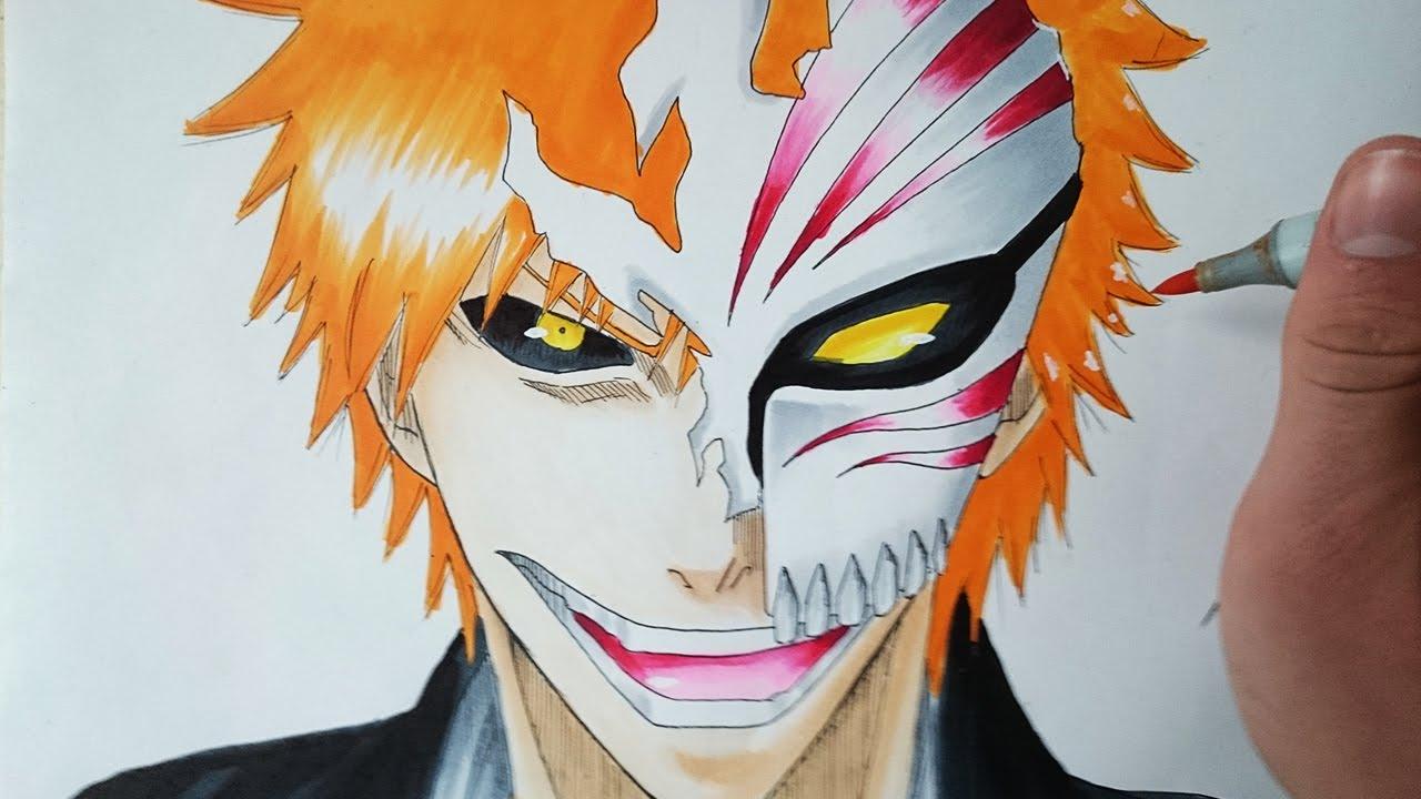Tutorial Ichigo Kurosaki Hollow Maske Zeichnen Deutsch Hd