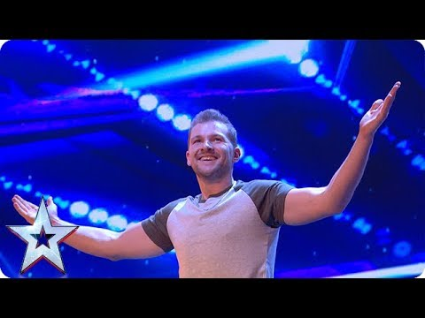 Sascha Williams TOTALLY UNEXPECTED act wows Judges | Auditions Week 1 | Britain's Got Talent 2018