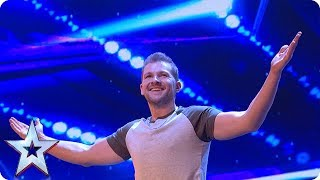 connectYoutube - Sascha Williams TOTALLY UNEXPECTED act wows Judges | Auditions Week 1 | Britain's Got Talent 2018