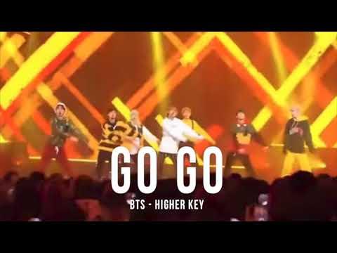 GO GO 👨🏻🎤 - BTS (higher key)