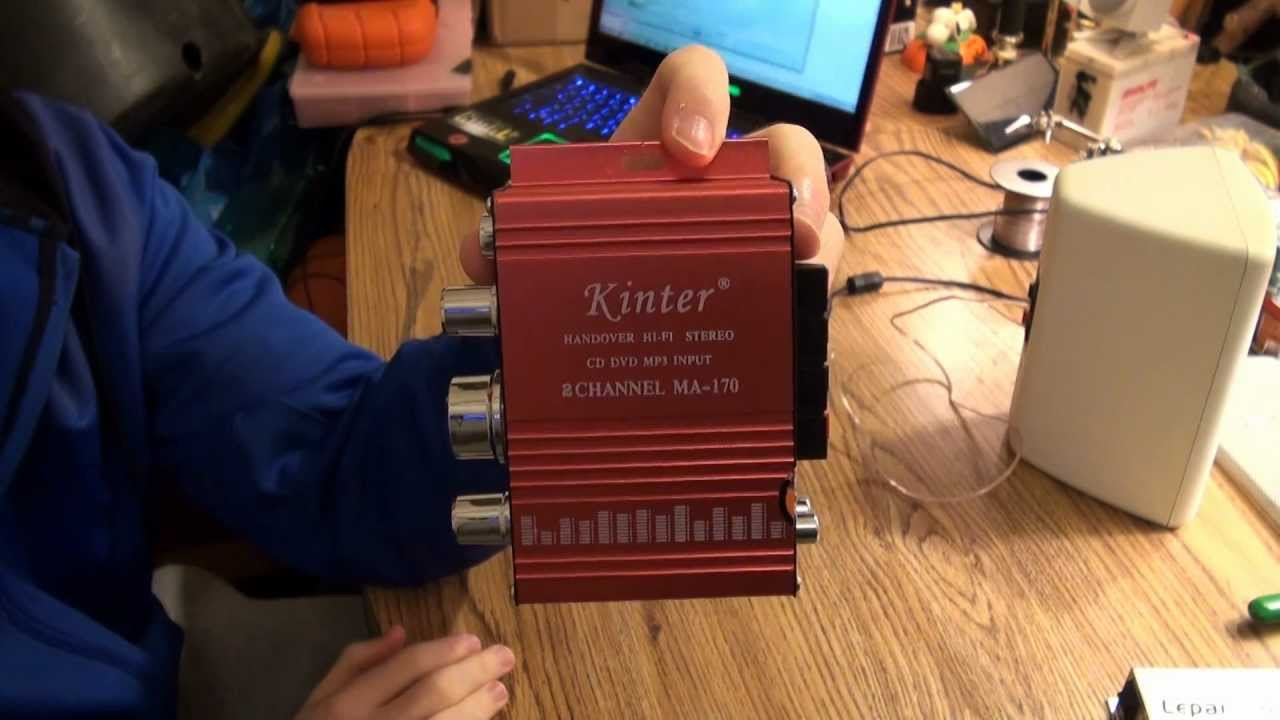 maxresdefault kinter ma 170 mini audio amplifier review youtube kinter ma 150 wiring diagram at eliteediting.co
