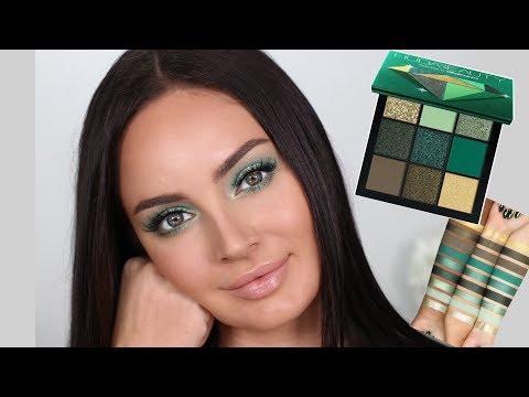 Huda Beauty Emerald Obsessions Palette Tutorial  Chloe Morello