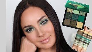 Huda Beauty Emerald Obsessions Palette Tutorial! \\ Chloe Morello