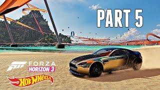 Forza Horizon 3 Hot Wheels Walkthrough Part 5 - DREADNOUGHT DASH (Xbox One DLC Gameplay)
