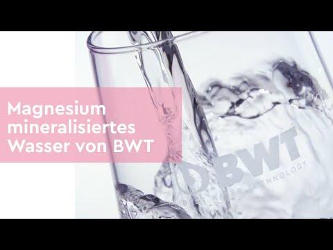 Magnesium Mineralisiertes Wasser Von BWT