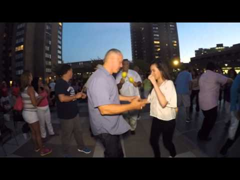 NYC SUMMER SALSA at Waterside Plaza with DJ WOODY 7-23-2015