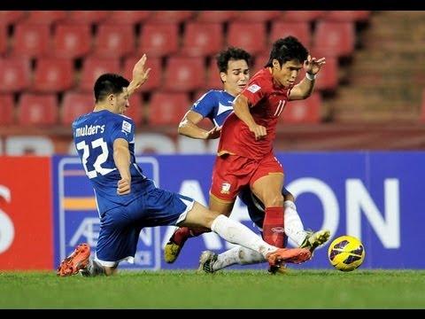 Thailand vs Philippines: AFF Suzuki Cup 2012