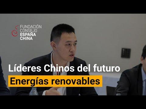 Diálogos con Líderes Chinos del Futuro - Cui Bolong. Energías renovables.