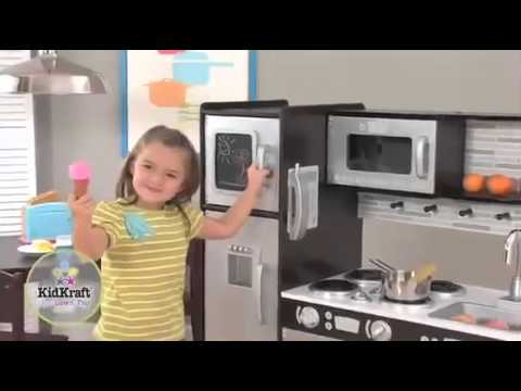 Cuisine pour enfant expresso kidkraft youtube - Cuisine bois enfant kidkraft ...