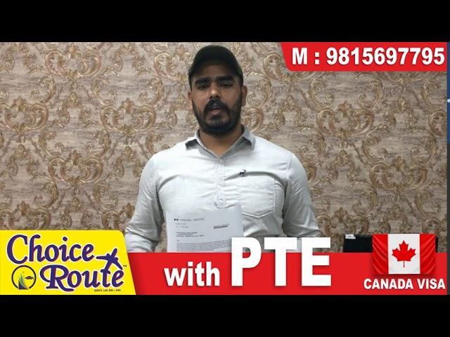 Congrats Karanveer Singh !! PTE ਦੇ ਨਾਲ CANADA ਦਾ ਇਕ ਹੋਰ ਵੀਜ਼ਾ Choice Route ਵੱਲੋਂ , 5 Years Study Gap